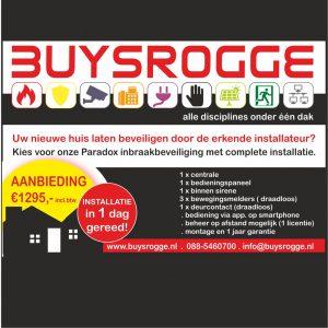 aanbieding Buysrogge alarm beveiliging 2019