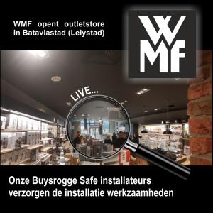 WMF opent vestiging in Bataviastad