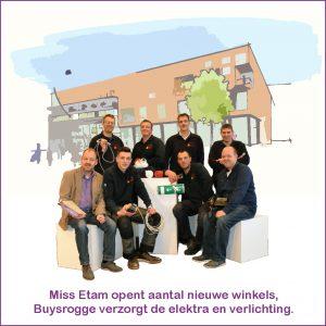 miss etam opent winkel in Hoog Catherijne