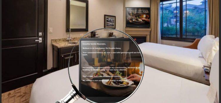 Buysrogge biedt hotelgasten gepersonaliseerde Hospitality TV over coax.